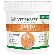 Vets Best Cleansing Eye Pads for Dogs 100 Pads