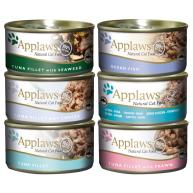 Applaws Fishy Tins Wet Cat Food 70g x 6 - Tuna Fillet