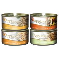 Applaws Meaty Tins Wet Cat Food 70g x 6 - Chicken
