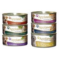 Applaws Meaty Tins Wet Dog Food 156g x 6 - Chicken