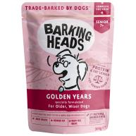 Barking Heads Golden Years Wet Senior Dog Food 300g x 10