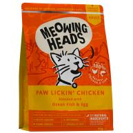 Meowing Heads Paw Lickin Chicken Adult Cat Food 4kg