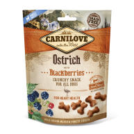 Carnilove Crunchy Ostrich with blackberries and Fresh Meat Dog Treat
