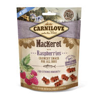 Carnilove Crunchy Mackerel with Raspberries and Fresh Meat Dog Treat