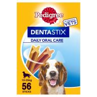 Pedigree Dentastix Medium Dog Treats 112 Stick SAVER PACK