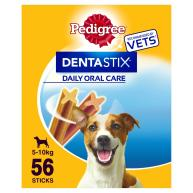 Pedigree Dentastix Small Dog Treats 56 Stick