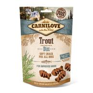Carnilove Semi-moist Snack Trout with Dill Dog Treat