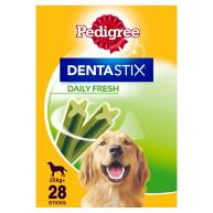 Pedigree Dentastix Fresh Dog Treats 28 stick +25kg