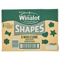 Winalot Shapes Dog Biscuits 15kg