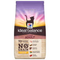 Hills Ideal Balance No Grain Chicken & Potato Adult Dry Cat Food 1.5kg