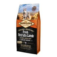 Carnilove Fresh Ostrich & Lamb Adult Small Breed Dog Food