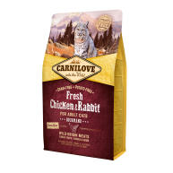 Carnilove Fresh Chicken & Rabbit Dry Adult Cat Food