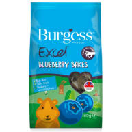 Burgess Excel Blueberry Bakes Small Pet Treats 80g