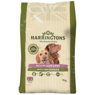 Harringtons Lamb & Rice Adult Dog Food 15kg x 2