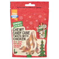 Armitage Chewy Christmas Candy Cane Twists with Chicken 70g