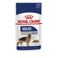 Royal Canin Maxi Adult Wet Dog Food Pouches in Gravy