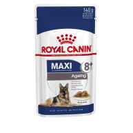 Royal Canin Maxi Ageing Senior Dog Food Pouches in Gravy