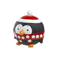 House of Paws Penguin Vinyl Christmas Dog Toy