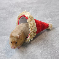 Rosewood Sisal Santa Hat for Small Pets