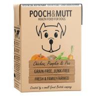Pooch & Mutt Chicken Pumpkin and Peas Adult Wet Dog Food Cartons