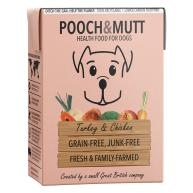 Pooch & Mutt Turkey & Chicken Wet Dog Food Cartons 375g x 24