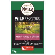 Nutro Wild Frontier Turkey & Chicken Dry Adult Cat Food