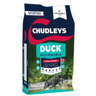 Chudleys Duck with Rice & Vegetables Hypoallergenic Dry Adult Dog Food