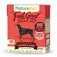Naturediet Feel Good Chicken & Lamb Wet Adult Dog Food Cartons