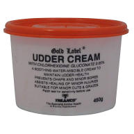 Gold Label Udder Cream for Horses 450g