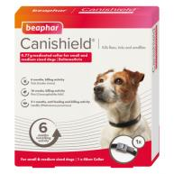 Beaphar Canishield Flea & Tick Collar for Dogs Small & Medium - 48cm NFA-D