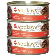 Applaws Beef Steak Bulk Pack Tins Wet Dog Food