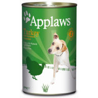 Applaws Turkey with Vegetables Wet Dog Food 400g x 6