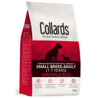 Collards Chicken & Rice Small Breed Adult Dog Food 10kg