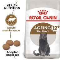 Royal Canin Ageing Sterilised 12+ Dry Adult Senior Cat Food