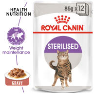 Royal Canin Sterilised Adult In Gravy Wet Cat Food Pouches
