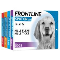 FRONTLINE Flea & Tick Treatment Dog