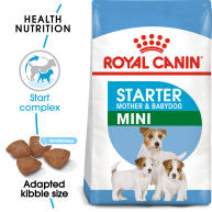 Royal Canin Mini Starter Mother & Babydog Dry Adult and Puppy Food 8.5kg