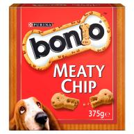 Bonio Meaty Chip Dog Biscuits  375g