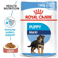Royal Canin Maxi Puppy in Gravy Wet Dog Food Food Pouches
