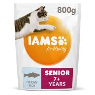 IAMS Ocean Fish Senior & Mature 7+ Cat Food 800g