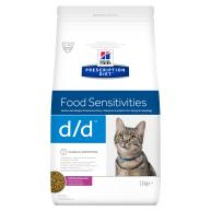 Hills Prescription Diet DD Food Sensitivities Duck & Green Pea Dry Cat Food