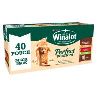 Winalot Perfect Portions Multipack in Gravy Wet Adult Dog Food 100g x 40