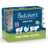 Butchers Traditional Recipes Trays Wet Dog Food 150g x 12