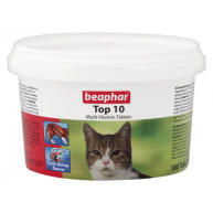 Beaphar Top 10 Vitamin Tablets for Cats
