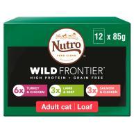 NUTRO Ancestral Meat Selection in Loaf Adult Wet Cat Food 85g x 12
