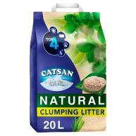 Catsan Natural Biodegradable Clumping Cat Litter 20 Litres