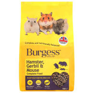 Burgess Complete Hamster, Gerbil & Mouse Food 750g