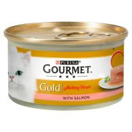 Gourmet Gold Melting Heart Salmon Adult Cat Food 85g x 12