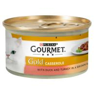 Gourmet Gold Turkey & Duck Casserole Cat Food 85g x 12