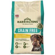 Harringtons Grain Free Turkey with Sweet Potato & Vegetables Adult Dog Food 15kg